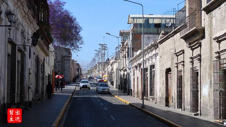 白色火山石建造的世界遺產古城:阿雷基帕