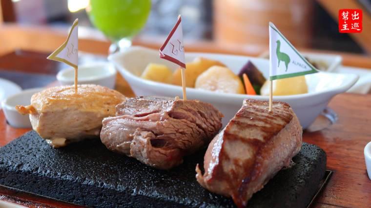 經典三重奏 牛肉、羊駝和雞肉